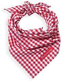 La Fraise Rouge 4251005600818 Marcel - Pañuelo para cuello, diseño a cuadros vichy, color rojo y blanco