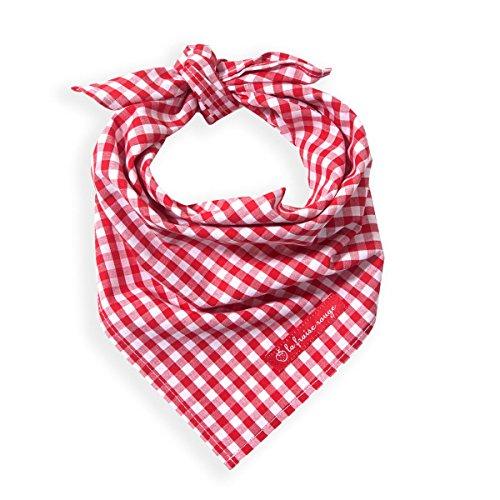 005600818 Halstuch Marcel, Vichy Karo, rot weiss (Cowgirl-outfits Für Damen)