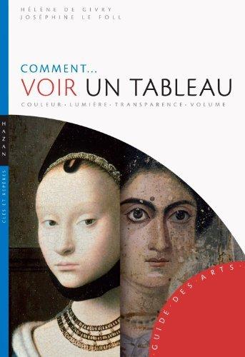 Comment voir un tableau: Couleur-Lumire-Transparence-Volume de Hlne de Givry (27 mai 2015) Broch