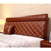 Europea moderna minimalista Comodino morbido Pacchetto Comodino Cuscino letto in pelle dello schienale dal cuscino staccabile Pacchetto per 1,2 milioni da letto o 1,5 m Letto ( colore : # 3 , dimensioni : 120*60*12cm )