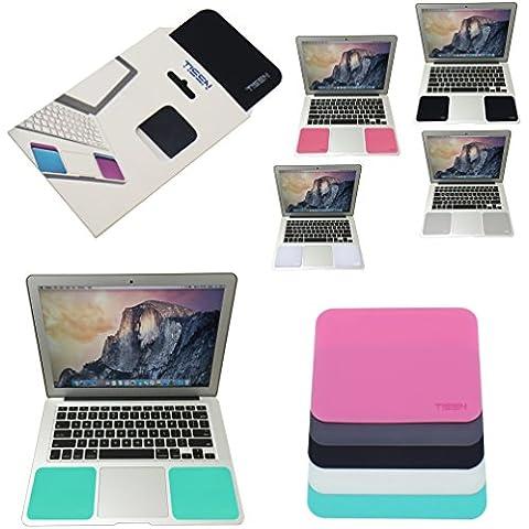 tisen MacBook tastiera in silicone polso Pads–Set 2–Cuscinetti in gel sul palmo, Poggiapolsi, Supporto Anche per Laptop