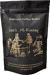 Espresso, Whole Beans, 1862 McKinley Antioxidant Rich Coffee