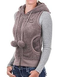Stitch & Soul D2004N82220B3 - Sweat-shirt - Sans Manche - Femme
