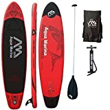 AQUA MARINA, MONSTER+ALU-Paddle, Paddle Board, SUP, 330x75x15 cm