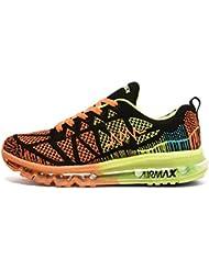 Homme Femme Air Basket Sport Fitness Chaussures de Course Sneakers