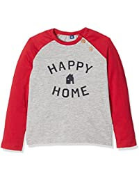 TOM TAILOR Kids Baby Boys' Application T-Shirt Long Sleeve Top