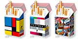 3er SET Karton Zigarettenschachtel ÜBERZIEHER Hüllen FÜR 20er SCHACHTELN / L-Schachteln / Hülle Zigarettenschachtel 8er SET / Motivset