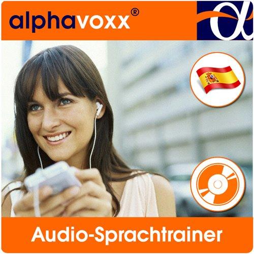 Preisvergleich Produktbild alphavoxx Spanisch Basis 1 + 2 - Audio-Sprachtrainer mit Vokabeln