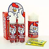 Cluckin Hot Sauce ZHC Mix Series The Chicken Shop 200ml 00mg (sans nicotine ni tabac)