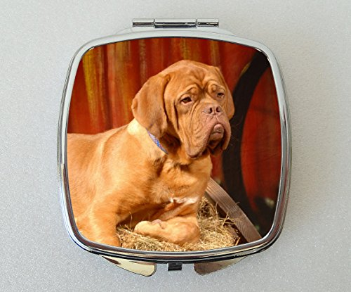 Starprint Sublimation Dogue de Bordeaux Dog Miroir de Poche Fantaisie Cadeau