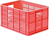 Basil Fahrradkasten Crate S, Fluor Coral, One Size, 21037