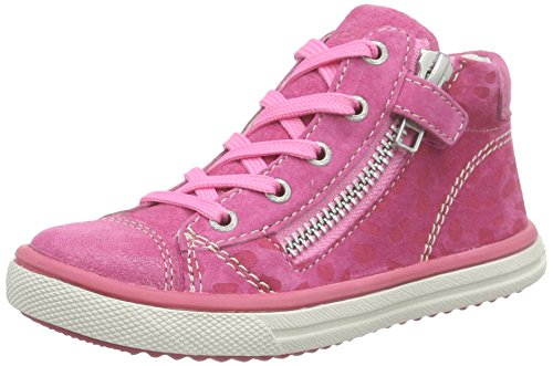 Lurchi Secil, Baskets hautes fille Rose - Pink (fuchsia 23)