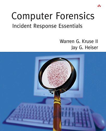 Preisvergleich Produktbild Computer Forensics: Incident Response Essentials