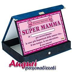 Idea Regalo - Targa premio speciale mamma