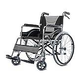 Jian E -/ Fauteuil Roulant - Fauteuil Roulant Manuel pour handicapés âgés /-/ (Couleur : A)