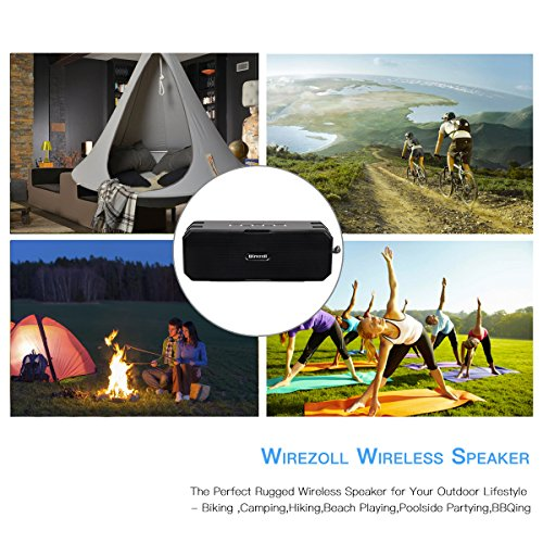 Altoparlante-Bluetooth-Wirezoll-IP67-Impermeabile-16W-Speaker-Portatile-Senza-Fili-con-Microfono-Incorporato-e-Doppia-Cassa-con-Bassi-per-iPhone-e-Smartphone-Android-e-Tablet-PC-ecc-5200mAh-Batteria-p