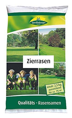 Rasensamen - Zierrasen 2,5 kg von Quedlinburger Saatgut