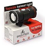 Topside Bike Helmet Light Rechargeable Dual Front & Rear Bike Light