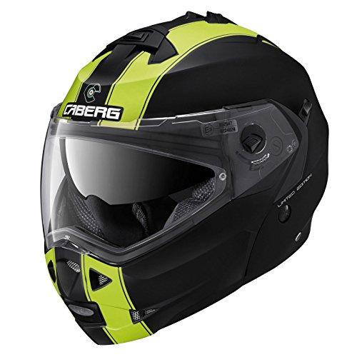 Caberg Duke Legend Motorcycle Helmet M Matt Black Fluorescent