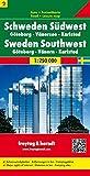 Schweden Südwest - Göteborg - Vänersee - Karlstad, Autokarte 1:250.000, Blatt 2, freytag & berndt Auto + Freizeitkarten - Freytag-Berndt und Artaria KG