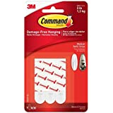 Command Plakstrip, medium, wit, 9 stuks