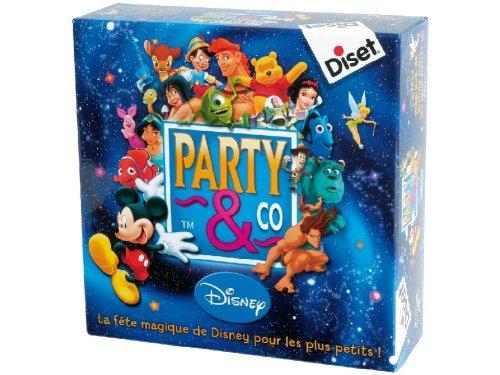 Diset - TOY46125 - Jeu éducatif - Party & Co Disney Français