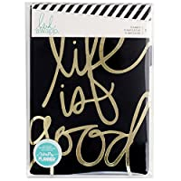 Heidi Swapp-Personal Memory Planner: Life Is Good. Keep Organized With This Fun And Unique Planner! This Package Contains One 8X5- 3/4X1-3/4 Inch Faux Leather Album, Twelve Monthly Tab Dividers, Twelve Pocket Pages And 122 Total Pages. Warning: This ...
