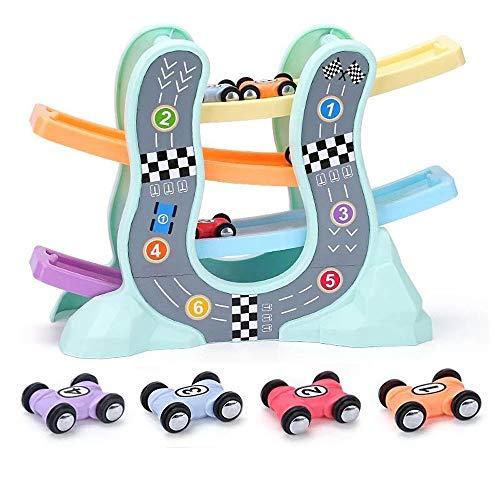 isches Spielzeug, Spaß Segelflugzeug Triebwagen mehrschichtigen Triebwagen Kinder Rutschspielzeug Auto (Vier Autos Cars ()