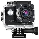 Action Kamera, Pictek WIFI 2,0 Zoll Sports Actioncam, Full HD, 1080p Video, 170° Weitwinkel WLAN,...