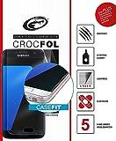 2x Schutzfolien für Samsung Galaxy S7 edge [CASEFIT] kein