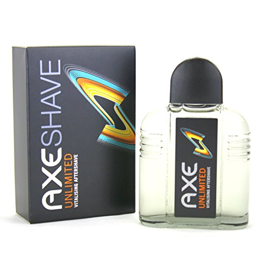 2 x 100ml Axe After Shave Unlimited = 200ml