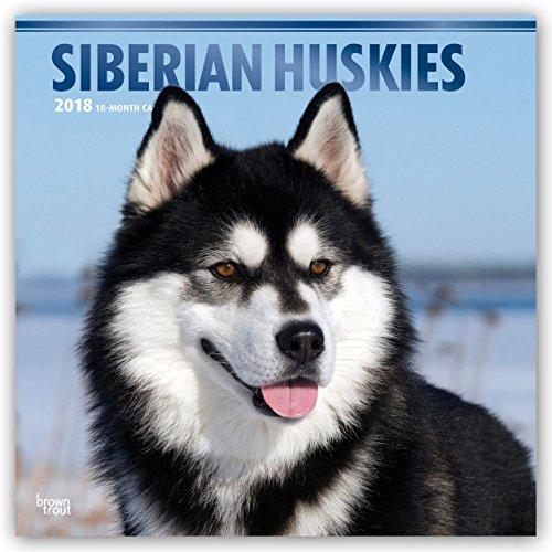 Descargar Libro Siberian Huskies - Sibirische Huskies 2018 - 18-Monatskalender: Original BrownTrout-Kalender - mit freier DogDays-App de Browntrout Publishers
