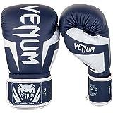 Die besten Venum 12 Oz Boxhandschuhe - Venum Elite Boxhandschuhe, Weiss / Marineblau, 12oz Bewertungen