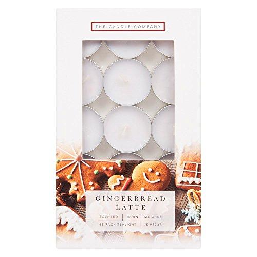 Weihnachten Teelicht Kerzen Gingerbread Latte