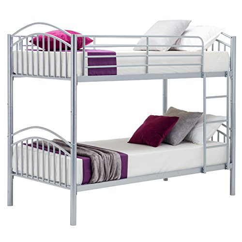 Uenjoy 3ft Single Adult Bunk Beds Frame 2 Person Children Beds 3ft