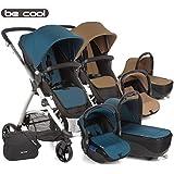 Be Cool  - Coche de paseo trío  slide 3 cocoon verde/caqui/negro