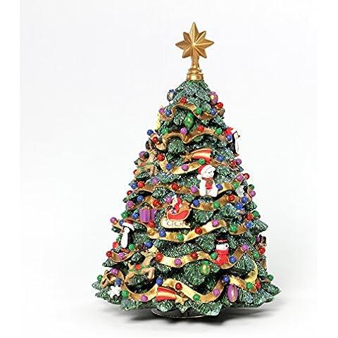Jingle Bell albero di Natale rotante