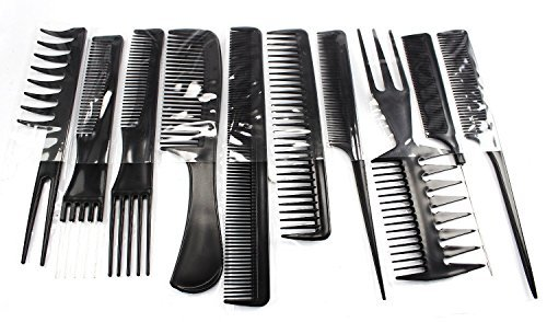 Cosanter Comb Hair Products Family Hairdressing Stylists Barbers Kämme 10er Set