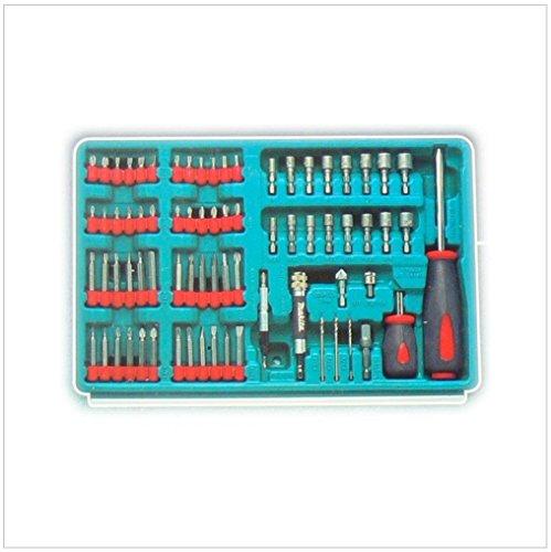 Makita 3-Fach-Schubladenkoffer inkl. 126-teiliger Werkzeug Set für 6260, 6261, 6270, 6271, 6280, 6281, 8270, 8271, 8280, 8281 DWAETC - 4