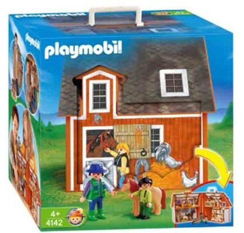 Playmobil - Granja maletín 4142