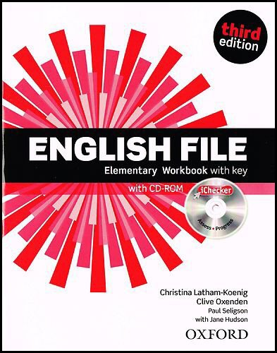 English File third edition: English File 3rd Edition Elementary. Workbook with Key and iChecker