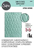 Sizzix 661260 Cartella di Goffratura Le Foglie di Lynda Kanase, PP Plastic, Multicolore, 17.9x12.2x0.4 cm