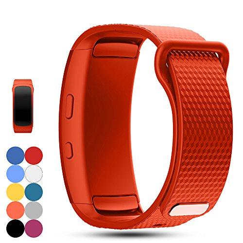 Samsung Gear Fit 2 SM-R360 Ersatz Uhrenarmband - iFeeker Zubehör Soft Silikon Armband Sportband Armband für Samsung Gear Fit2 SM-R360 Smartwatch
