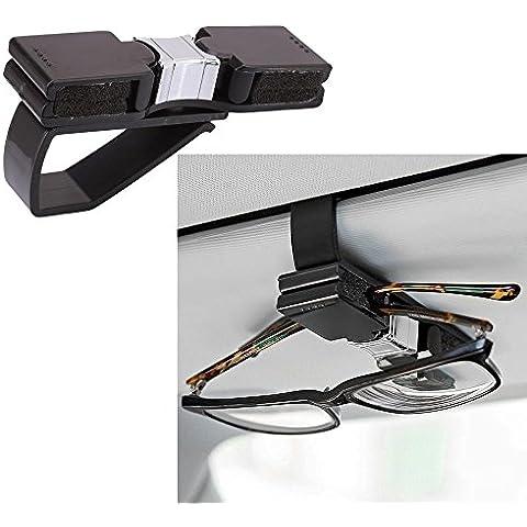Soporte Auto de gafas gafas para coches Camiones Coche Parasol Gafas estante