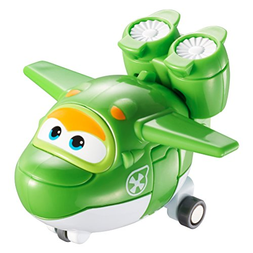 Super Wings- Mini Tramsform a Bots Mira EU710080-Transform-a-Bots, YW710080, Vert
