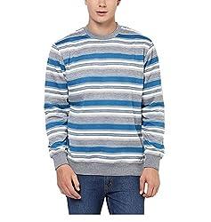 Yepme Gareth Sweatshirt - Blue & Grey - YPMSWEAT0261_S