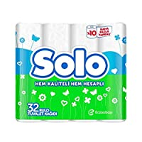 Solo Tuvalet Kağıdı, 32'li, 1 Paket (1 x 32 Adet)
