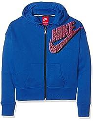 Nike Seasonal Sb Full Zip Hoody - Chaqueta de running para niña, color azul, talla L