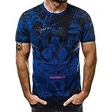 Luckycat Hochwertiges Herren Funktionsshirt   Perfekt für Fitness & Gym - Kompressionsshirt im stylischen Trust N°1 Design Herren T-Shirt Basic V-Ausschnitt Oder Rundhals Einfarbig Slim Fit