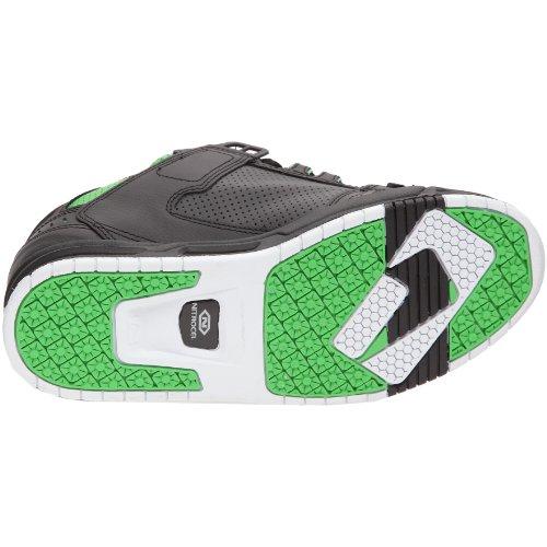 Globe Sabre GBSABR, Unisex - Erwachsene, Sneaker Schwarz (black/moto green)